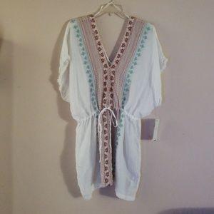 Zara embroidered tunic